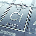 Chlorine Chemical Element by Science Picture Co
