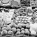 chocolates on display inside the la boqueria market in Barcelona Catalonia Spain by Joe Fox