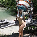 Chokoskee Island Fl. Indian 044 by Lucky Cole