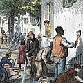 Cholera Epidemic, 1873 by Granger