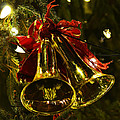Christmas Bells Ornaments Faneuil Hall Tree Boston by Toby McGuire