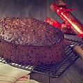 Christmas Cake by Amanda Elwell