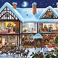 Christmas House by Steve Crisp