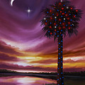 Christmas Palmetto Tree by James Christopher Hill
