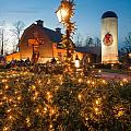 Christmas Village Decorations by Alex Grichenko