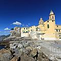 church in Camogli by Antonio Scarpi
