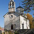 Church In Cetinje Montenegro by Jacek Malipan