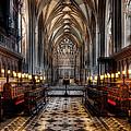 Church Interior by Adrian Evans