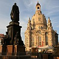 Church Of Our Lady  -  Dresden - Germany by Christiane Schulze Art And Photography