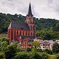 Church Of Our Lady  Oberwesel Am Rhein by Jouko Lehto