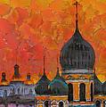 Church Sunset by Yury Malkov