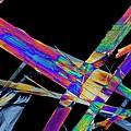 Ciprofloxacin Antibiotic Drug Crystals by Antonio Romero/science Photo Library