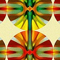 Circle Pattern 2 by Amy Vangsgard
