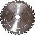 Circular Saw Blade Isolated On White by Handmade Pictures
