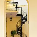 Circular Staircase by Les Palenik