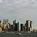 City At The Waterfront, New York City by Panoramic Images