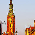 City Hall In Gdansk by Karol Kozlowski