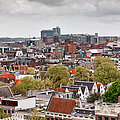 City Of Amsterdam From Above by Artur Bogacki