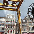 City Of Amsterdam Urban Scenery by Artur Bogacki