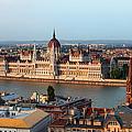 City Of Budapest Cityscape by Artur Bogacki
