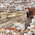 City Of Seville Cityscape In Spain by Artur Bogacki
