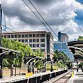 City Streets Of Charlotte North Carolina by Alex Grichenko