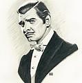 Clark Gable by Melissa A Benson