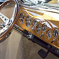 Classic Car Interior by Cathy Anderson