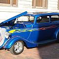 Classic Custom Car by Robert Floyd
