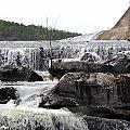 Clayton Lake Spillway by Jackie Austin