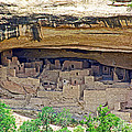 Cliff Palace From Chapin Mesa Top Loop Road In Mesa Verde National Park-colorado by Ruth Hager