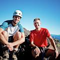 Climbing Foley Peak by Christopher Kimmel
