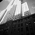 Close In Shot Of The Empire State Building New York City by Joe Fox