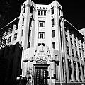 closed branch of banco estado the state bank Santiago Chile by Joe Fox