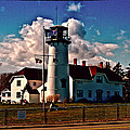 Coast Guard Station Chatham by Bill Barber