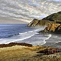 Coastal Beauty Impasto by Sharon Foster