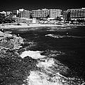 Coastal Path Past Salou Waterfront Properties On The Costa Dorada Catalonia Spain by Joe Fox