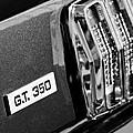 Cobra Gt 350 Taillight Emblem by Jill Reger