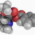 Cocaine Drug Molecule by Laguna Design/science Photo Library