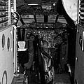 cockpit of the British Airways Concorde by Joe Fox