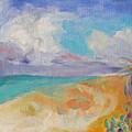 Collapsed Sand Castle by Susan Hanlon