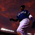 Colorado Rockies V Texas Rangers by Tom Pennington