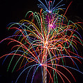 Colorful Fireworks by Garry Gay