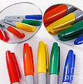 Colorful Markers by Photo Researchers