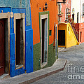 Colorful Street, Mexico by John Shaw
