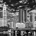 Columbus Ohio Skyline by Mountain Dreams