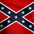 Confederate Flag 5 by Les Cunliffe