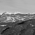 Continental Divide Rocky Mountain Snowy Peaks Panorama by James BO Insogna