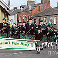 Corduff Pipe Band St Patricks Day Parade Carrickmacross by Ros Drinkwater