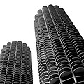 Corn Buildings Chicago by Admir Gorcevic